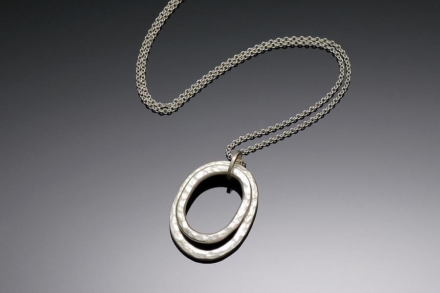 Double circle necklace heather murray jeweler aloadofball Image collections