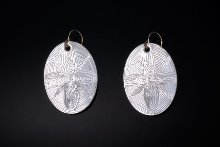 Engraved-earrings
