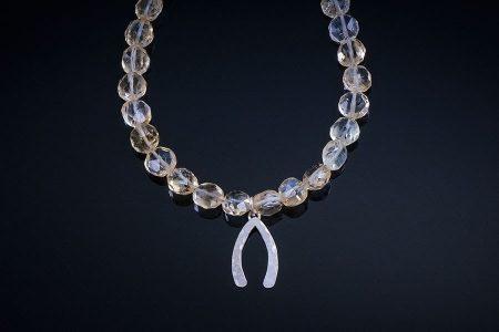 Lakshmi Wishbone Bracelet