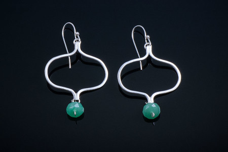 Yogini with Green Aventurine Earrings